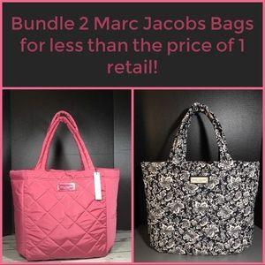 Marc Jacobs Totes Nylon Bags Bundle NWT